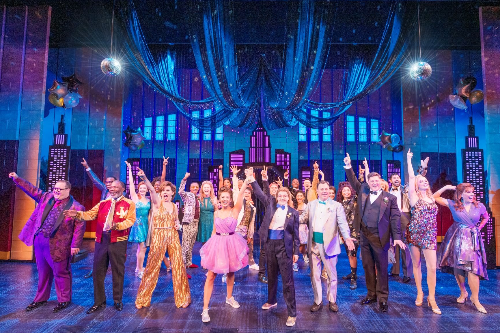The Cast of Broadway's THE PROM - Photo by Deen van Meer - resized
