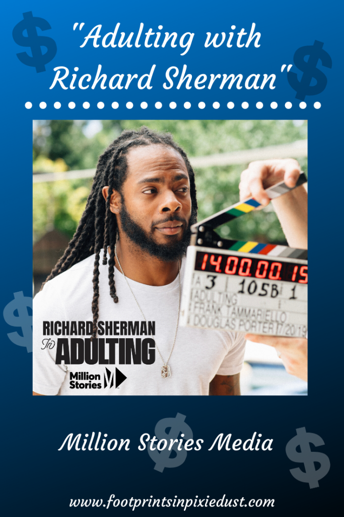 adulting with richard sherman pin