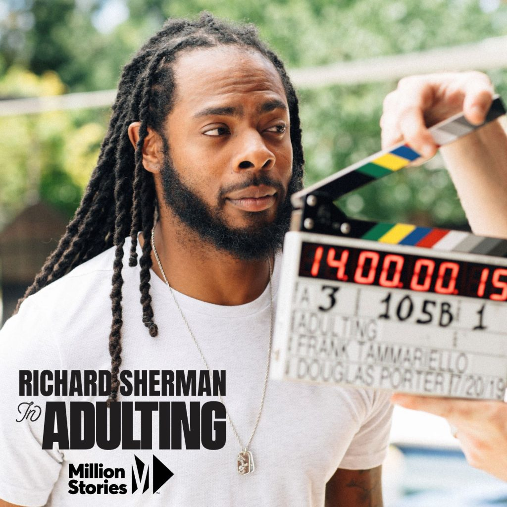 Richard Sherman Talks Financial Independence with Million Stories Media - photo courtesy of Million Stories Media