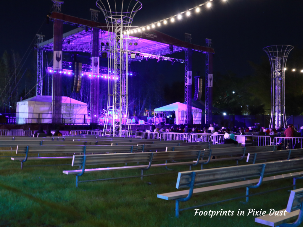 2020 Busch Gardens Food and Wine Festival - Bandstand in Festival Field (pre-show)