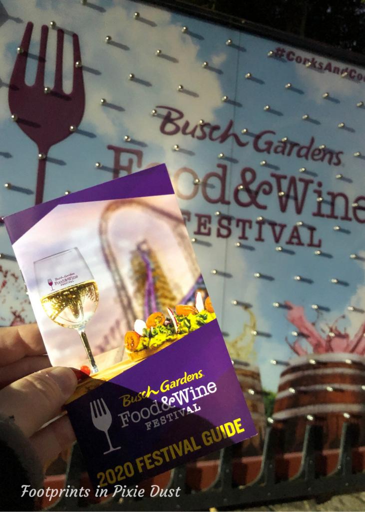 2020 Busch Gardens Food and Wine Festival - Festival Guide