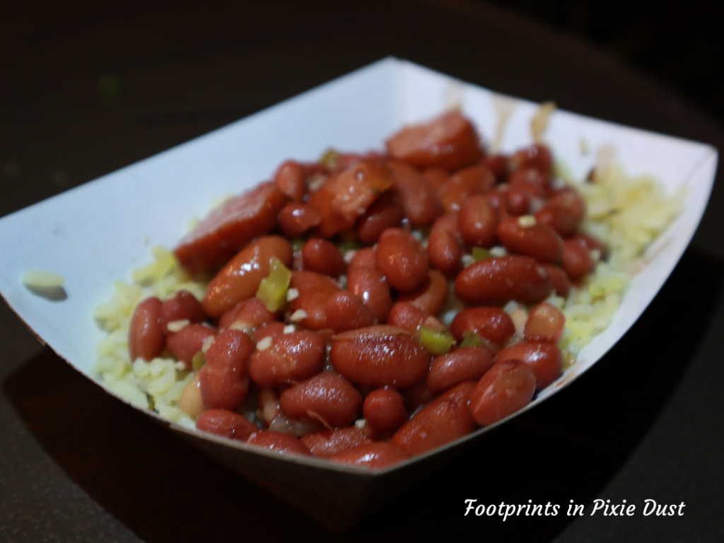 2020 Busch Gardens Food and Wine Festival -Nola Eats - Red Beans and Rice with Sausage