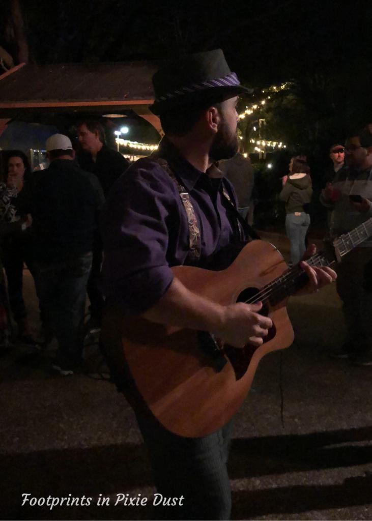 2020 Busch Gardens Food and Wine Festival - Strolling Musician
