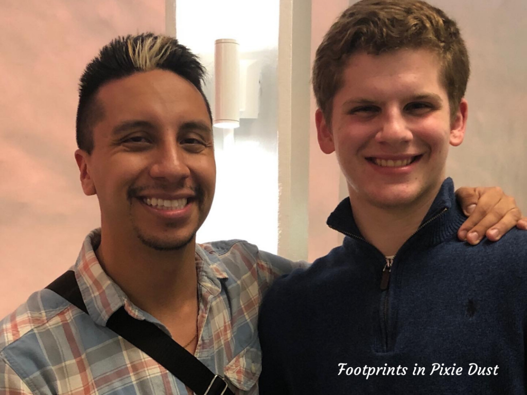 Teen meeting TJ Newton from Spamilton An American Parody