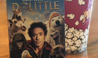 Dolittle DVD packaging