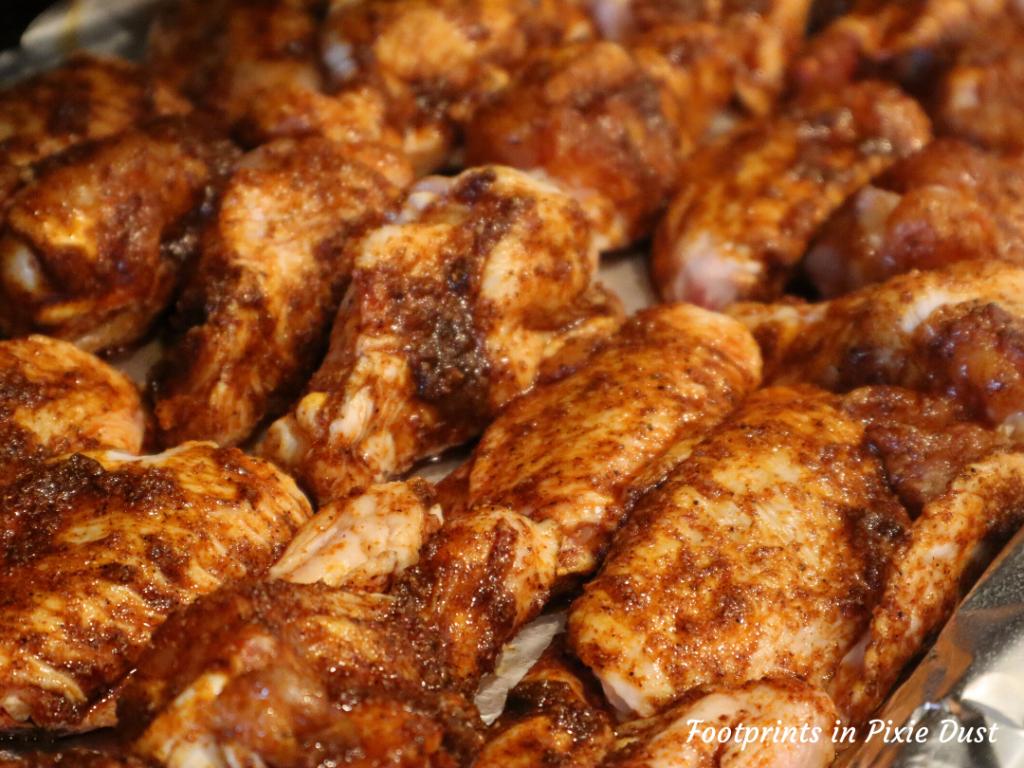 Disney Recipes at Home - Honey-Coriander Chicken Wings Ready For Baking