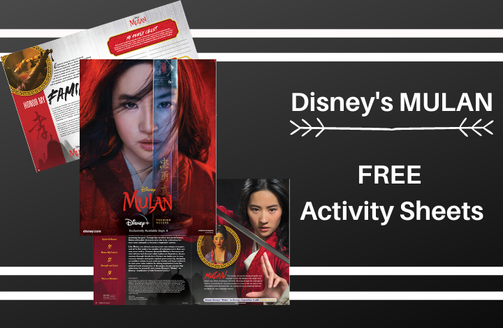 Printables for Disney's Mulan