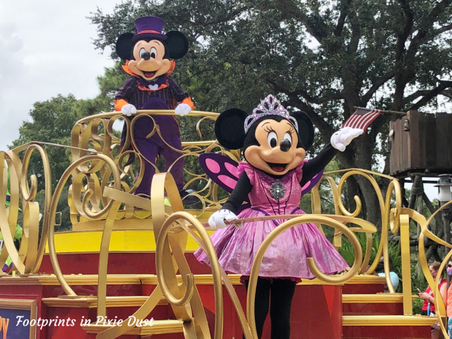 Magic Kingdom Fall 2020 - Boo to You Mini Parade