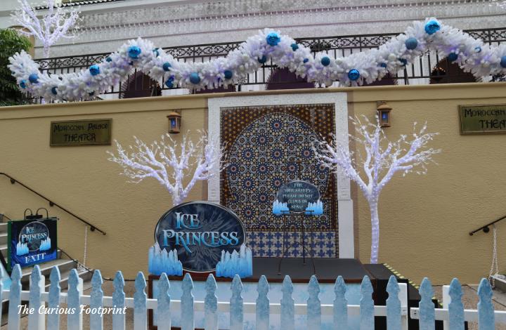 Busch Gardens Christmas Town 2020 - Ice Princess Meet and Greet