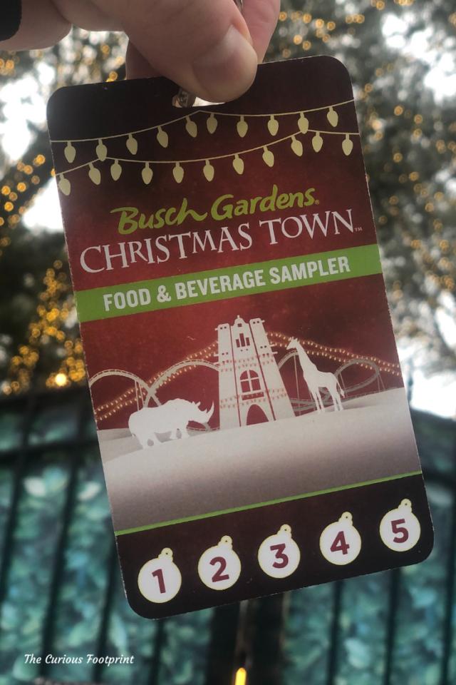 Busch Gardens Christmas Town 2020 - Sampler Lanyard