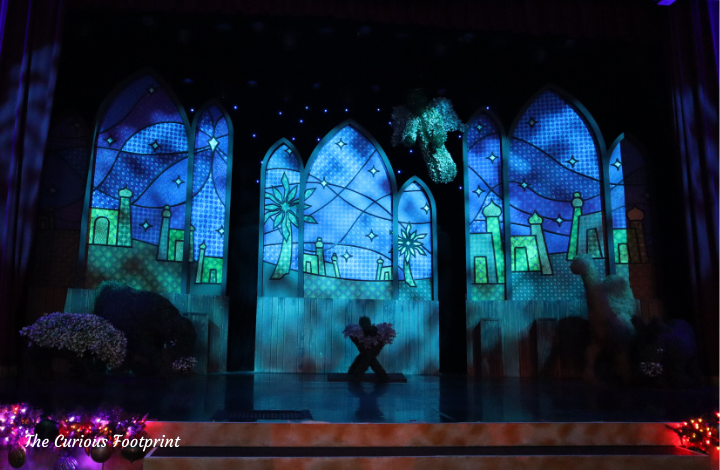 Busch Gardens Christmas Town 2020 - Stage for Three Kings Journey