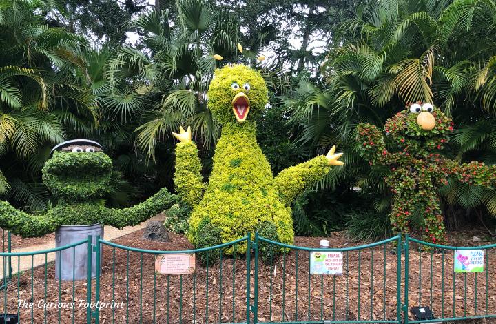 Busch Gardens Christmas Town 2020 - The Sesame Street Gang