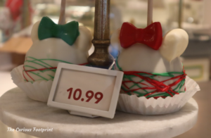 Magic Kingdom 2020 Holiday Treats ~ The Confectionary Candy Apples