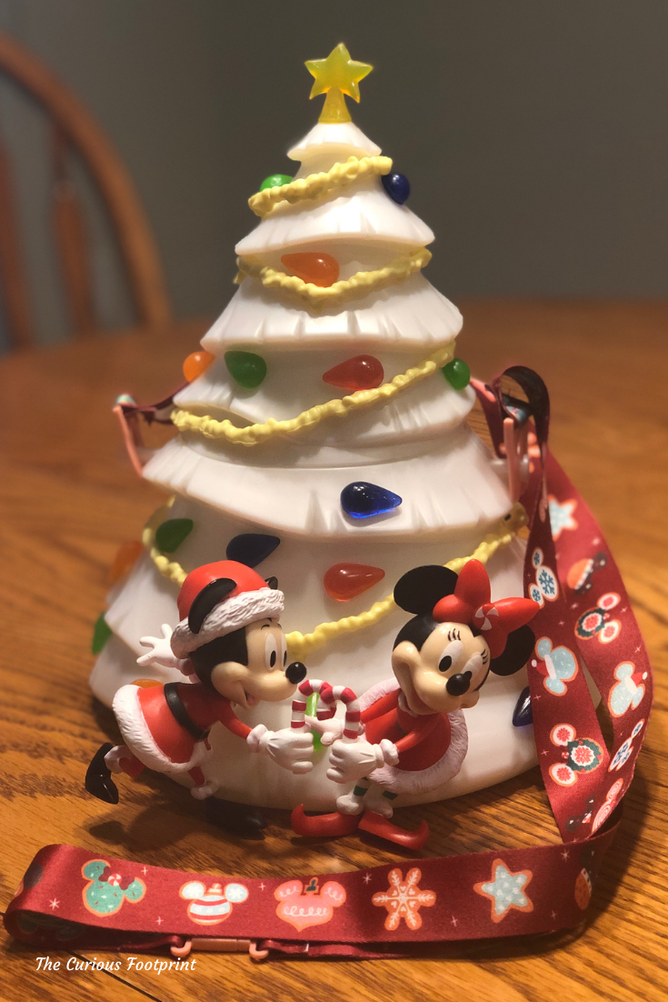 Magic Kingdom 2020 - Light-Up Mickey Christmas Tree Popcorn Bucket