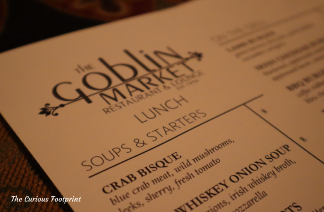 Mount Dora - The Goblin Market menu
