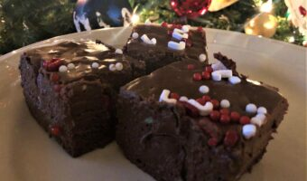 Santa's Favorite Peppermint Fudge