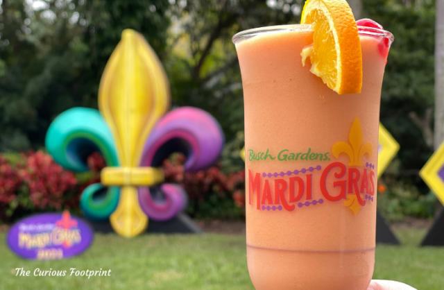 Busch Gardens Mardi Gras 2021 - Frozen Rum Hurricane