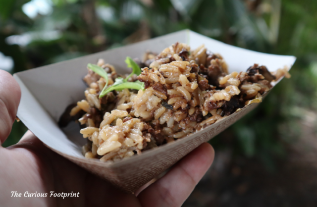 Busch Gardens Mardi Gras 2021 - Okra and Mushroom Dirty Rice