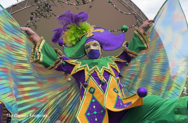 Busch Gardens Mardi Gras 2021 - Pop-Up Parade