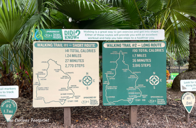 Busch Gardens Walking Trails