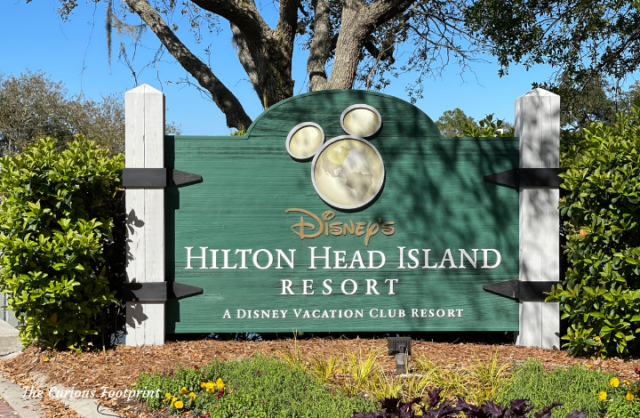 Disney's Hilton Head Island Resort - Entrance Sign to Property