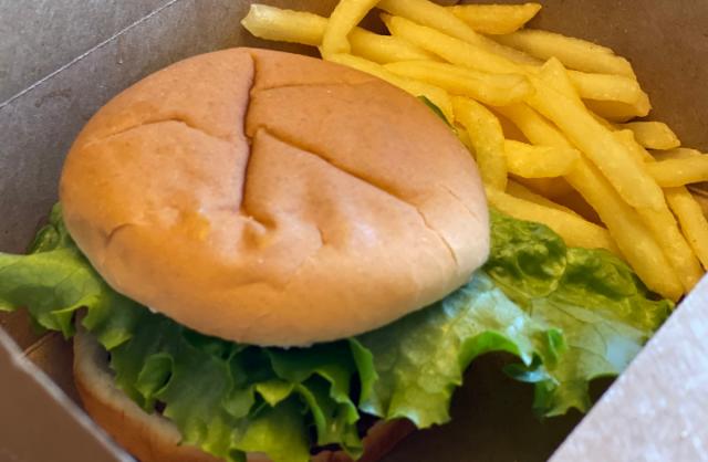 Disney's Hilton Head Island Resort - Food Allergy Friendly Burger and Fries