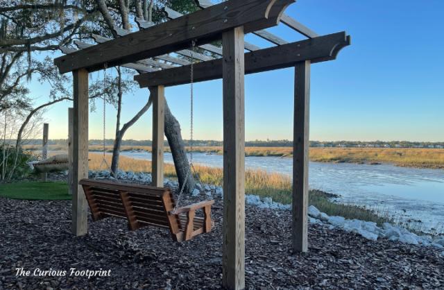 Disney's Hilton Head Island Resort - Swing While Watching the Sunset